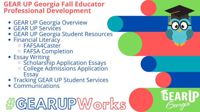 Fall Educator PD Agenda
